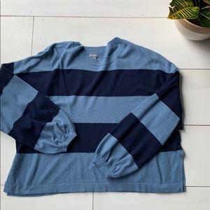 Aerie crop stripe sweater